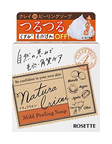 ロゼット ROSETTE ナチュラリオン マイルドピーリングソープ 60g さっぱり フルーティアロマの香り