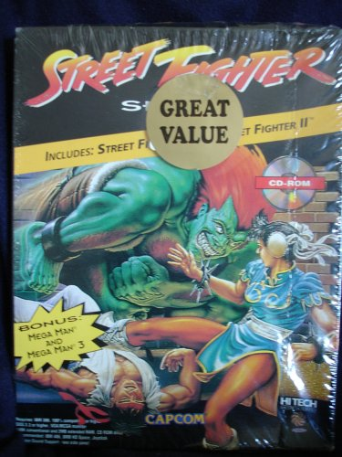 Street Fighter Series (Street Fighter I / Street Fighter II / Mega Man / Mega Man 3) (輸入版)