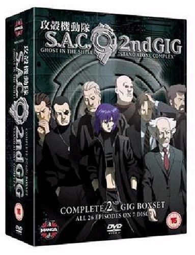 攻殻機動隊 S.A.C. 2nd GIG コンプリートBOX[DVD] [Import]の詳細を見る