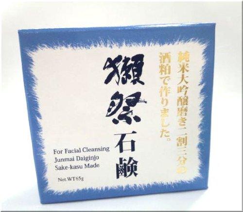 獺祭(だっさい) 酒粕石鹸 65g(洗顔用ソープ)