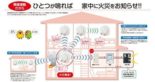 ホーチキ 無線連動方式 住宅用 火災警報器 (煙式) 3個セット SS-2LR-10HCT3A