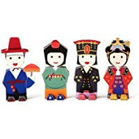 Korea Character Papertoy - Imperial Family Wedding SET