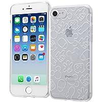 レイ・アウト iPhone8/iPhone7 ケース ソフト TPU ディズニーキャラクター キラキラ ミッキーマウス RT-DP14A/MK