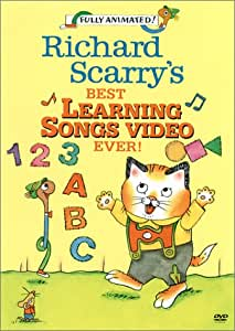 Richard Scarry - Best Learning Songs Video Ever [DVD] [Import]