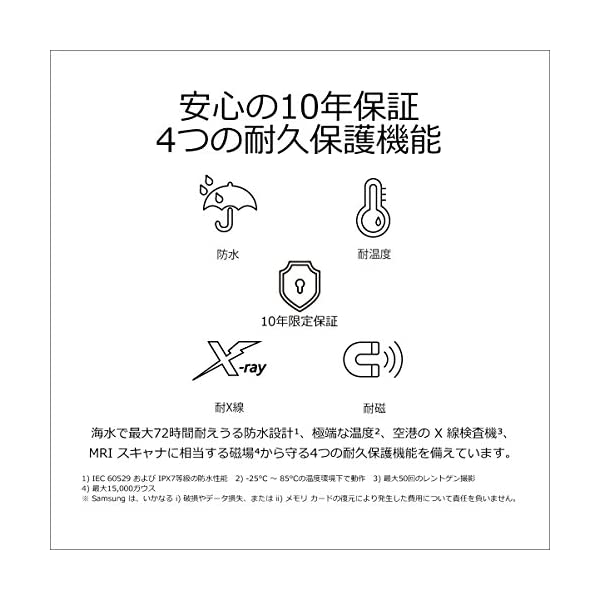 Samsung microSDXCカード 12...の紹介画像5