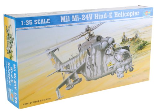 1/35 ヘリコプター ミル Mi-24V ハインドE 攻撃ヘリコプター