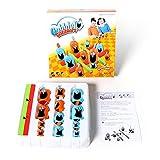 Gobblet Gobblers ボードゲーム 小学生 家族 ファミリーゲーム チェスボードゲーム家族の親子チャイルド玩具のラインナップ (ボードゲームのおもちゃ03)