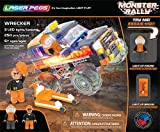 Laser Pegs Building Blocks ( 250ピース)、Wrecker、最初の照明付きConstruction Toy to Ignite Your子の創造性、LEDライトアップConstructionブロック、と互換性の主要レンガBuildingセット