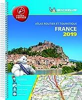 France 2019 -Tourist & Motoring Atlas A4 Laminated Spiral: Tourist & Motoring Atlas A4 spiral (Michelin Road Atlases)