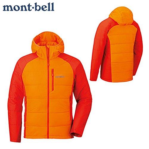 モンベル(mont-bell) U.L.サーマラップ パーカ Men's 1101538 (L PUM パンプキン)