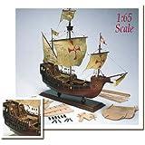 帆船模型キット AM1409 サンタマリア (60分の帆船模型製作入門DVD及び和訳付き)