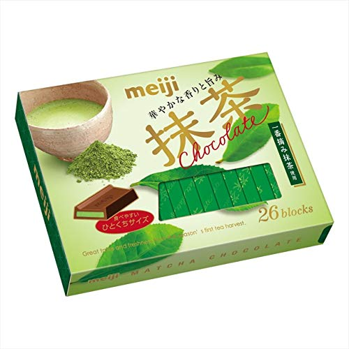 明治抹茶チョコレート BOX 6箱