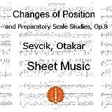 セヴシック (セブシック) 楽譜 pdf ポジションの移動と音階の練習 Op8