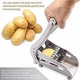 ポテトチップス製造食品フレンチフライカッターポテトカッターキッチンガジェットキュウリのスライス切断機