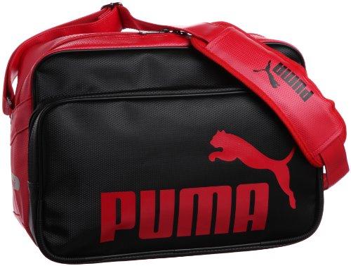 [プーマ] PUMA Ts Mat ASB Type B Shoulder M 869174 01 (ブラック/リーガルレッド)