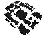 ホンダ GK系 フィット GP5/GP6 ハイブリッド フィット アームレスト付き車 ゴム ラバー ポケットマット グロー 夜光 14点セット