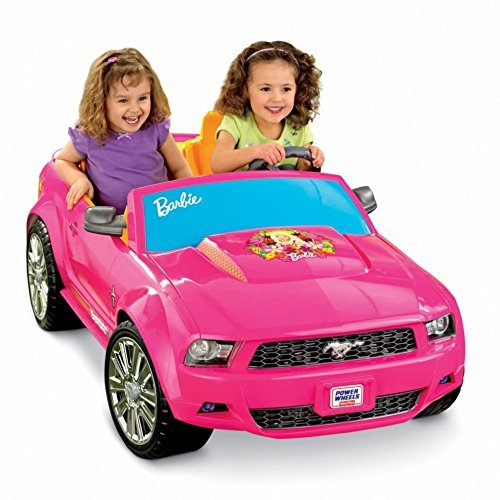 Power Wheels Barbie Ford Mustang [並行輸入品]