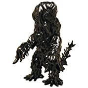 世紀の東宝怪獣 漆黒オブジェコレクション へドラ1971 約240mm ソフトビニール製 無彩色完成品フィギュア