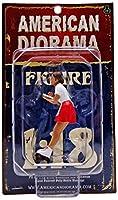 1/18 American Diorama Carhop Waitress - Grace 女性 ウェイトレス フィギュア 模型
