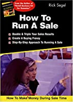 How To Run A Sale
