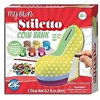 Stiletto Coin Bank Make My Own # 1Amazon Best Seller