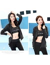 (マリア)MARIAH上下セット Tシャツ ヨガウェア フード付き ショートパンツ 付き ロングタイツ レギンス 吸汗速乾 体操 ランニング フィットネス ジム トレーニング ウェア