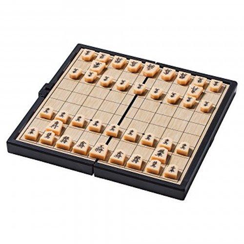 [해외]일본 장기 연맹 감수 휴대용 자석 장기 세트 초보자 접이식 휴대 편리 초소형/Portable magnetic chess set supervised by the Japanese Shogi Federation beginner Folding type portable convenience ultra-compact