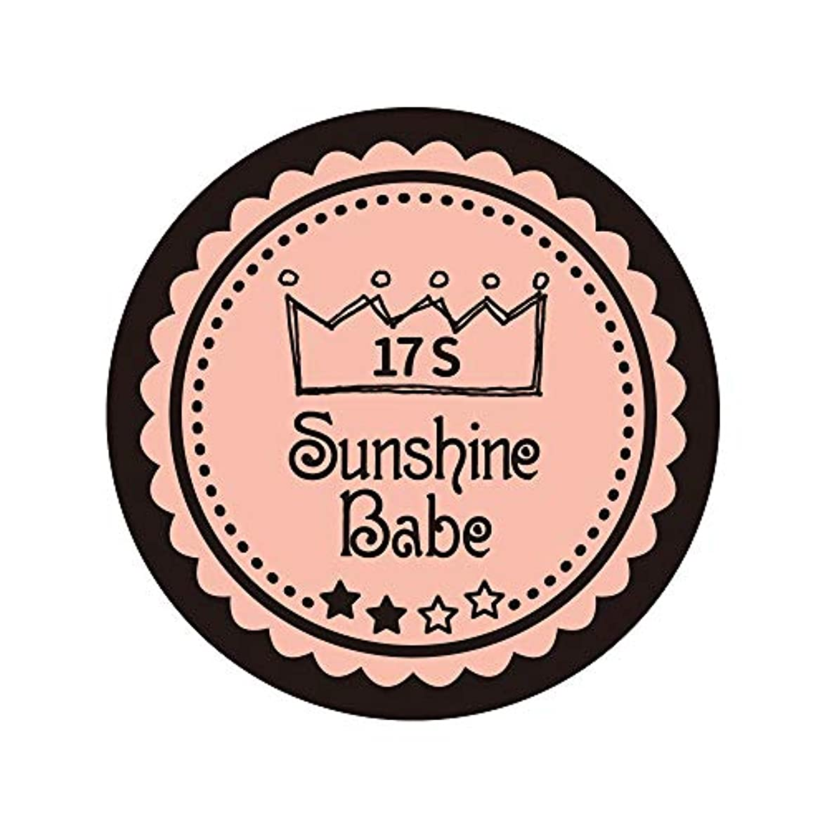 不足ファイター銀行Sunshine Babe カラージェル 17S ヌーディローズ 2.7g UV/LED対応