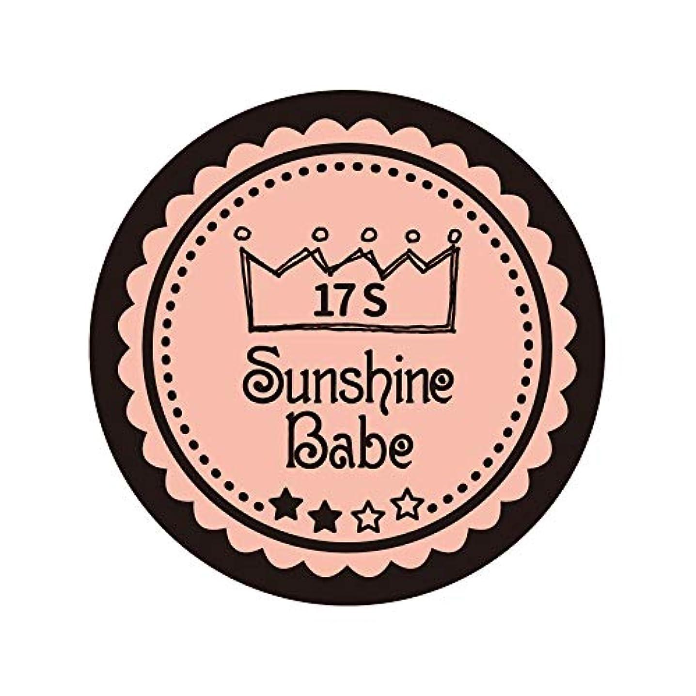 ジョセフバンクス献身呼吸Sunshine Babe カラージェル 17S ヌーディローズ 2.7g UV/LED対応