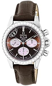 [オメガ]OMEGA 腕時計 デ・ビル ブラウン文字盤 コーアクシャル自動巻 クロノグラフ 422.18.35.50.13.001 レディース 【並行輸入品】