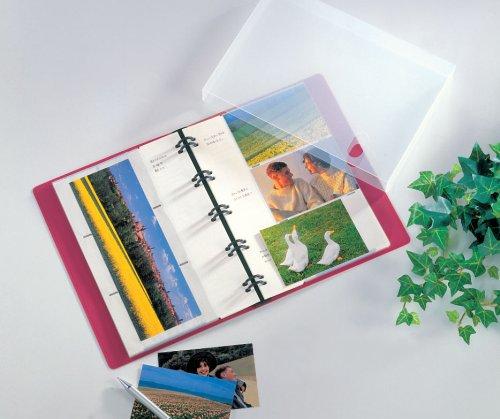 SEKISEI アルバム ポケット カケルアルバム バインダー式 Lサイズ 120枚収容 L 101~150枚 ブルー XD-120LP