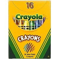 Crayola :クラシックカラーパックCrayons , Wax、レギュラーサイズ、Tuckボックス、16色perボックス – : -として販売2パックof – 1 – / – Total of 2 Each