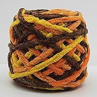 wituse 100 gカラー# 1ニット織り暖かいウールコットン糸かさばる帽子の枕 7105EQE932