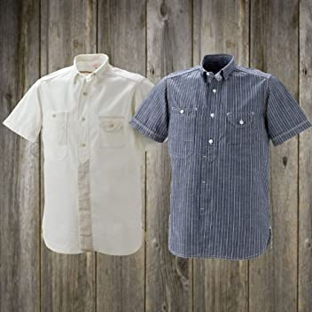 40s Work SS Shirt SN-08SS-05SS: White