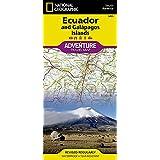 National Geographic Adventure Map Ecuador / Galapagos Islands