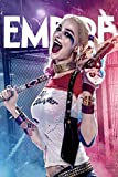 スーサイド スクワッド ハーレー クィン シルク調 ファブリック ポスター 約60×90cm Suicide Squad Harley Quinn [並行輸入品]