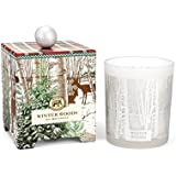 Michel Design Works Gift Boxed Large Soy Wax Candle Winter Woods 14 oz