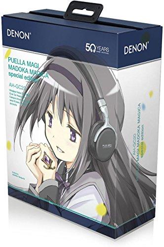 DENON ワイヤレスヘッドホン 魔法少女まどか☆マギカ・スペシャルエディション Bluetooth/ノイズキャンセリング対応 ブラック AH-GC20-MDKの詳細を見る