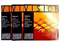 バイオリン弦 Thomastik Vision/ヴィジョン 4/4サイズ用 A/D/G線set