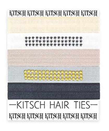 キッチュ Kitsch ヘアタイ ヘアゴム 5本セット premium Hair Tie Studded