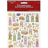 Multicolored Stickers-Nativity Scene (並行輸入品)