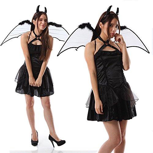 monoii デビル 悪魔 コスプレ 衣装 ハロウィン コスチューム レディース 496