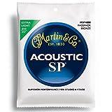 Martin MSP4000 フォスファーブロンズ Extra Light(10-47) MSP-4000 マーチン アコースティックギター弦 【国内正規品】