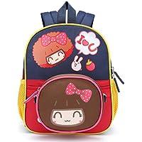 Willikiva caroon girl bags,kids backpacks for kindergarten schoolbag for children bag