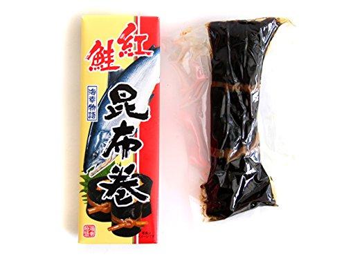 紅鮭昆布巻 150g(中箱)北海道産コンブで仕上げたべに鮭をこんぶ巻に致しました。朝食をはじめ、晩御飯にも良いですし、お酒の肴としてもオススメです。お正月のおせち料理にはもちろんのこと、ご贈答用にも人気の味わいをご家庭でどうぞ。