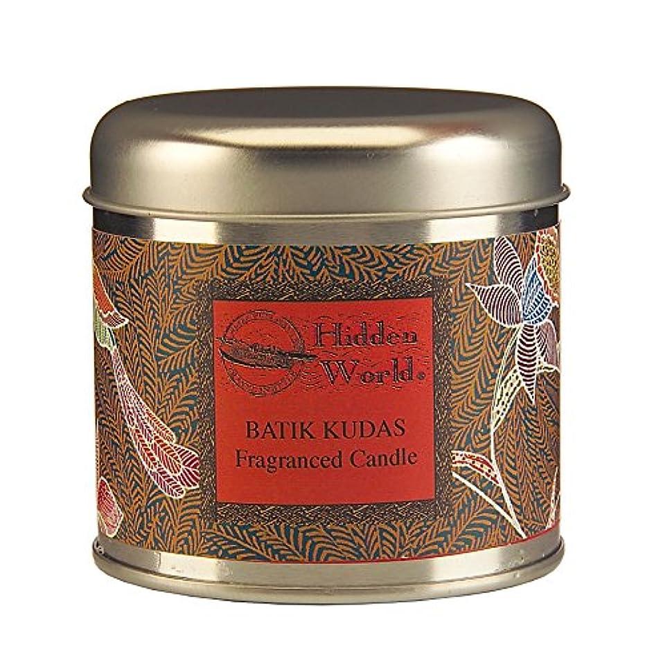 散らすコンドーム南西WAX LYRICAL Hidden World 缶入りキャンドル バティッククダス CNHW0102