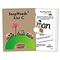 [Child1st SnapWords]Child1st SnapWords SnapWordsTM List C Teaching Sight Word Cards SWC1 [並行輸入品]