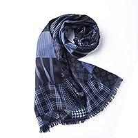 QingYun Trade 女性用シルク製マントンシルクスカーフ軽量で ユニークな気質 (Color : Copper, サイズ : M)
