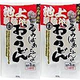 香川県池上製麺所 るみばあちゃんのおうどん 3食用×2袋【送料込】