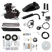 Niome 80cc 2ストローク 自転車ガソリンエンジン 空気冷却モーターキット 電動自転車プッシュバイク用